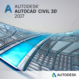autocad civil 3d 2017 badge 256px