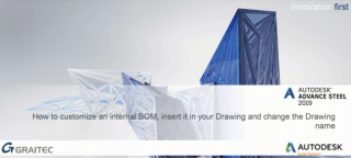 How to customize an INTERNAL BOM, insert it in your drawing, and change the drawing name