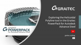 Exploring the Helicoidal Polyline tool in the Graitec PowerPack for Autodesk Advance Steel