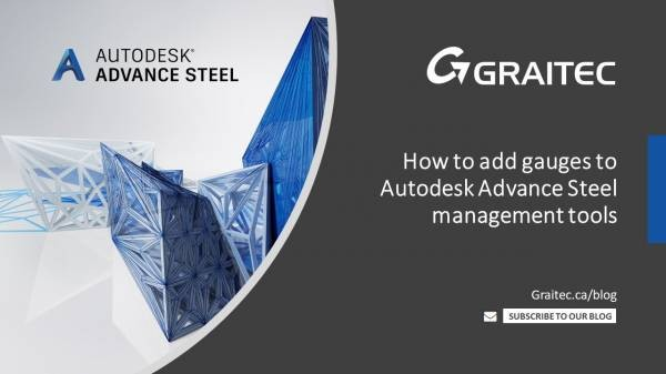 how-to-add-gauges-to-autodesk-advance-steel-management-tools