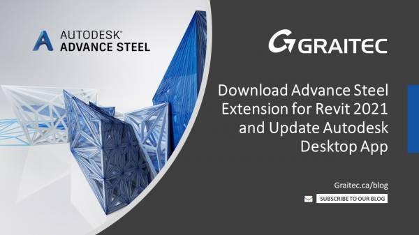 Blog-Post-Templates-Download- Advance-Steel-Extens-on-for-Revit-2021-and-Update-Autodesk-Desktop-App