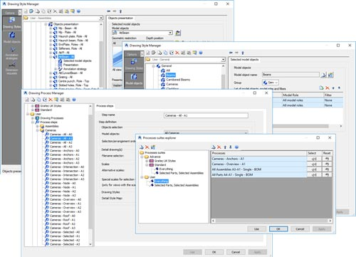 Advance Steel Implementation Automated Creation of Drawing Styles